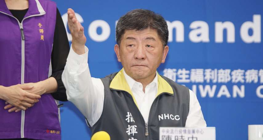 陳時中2度受NHK專訪:樂於分享台灣經驗,不是誰教誰