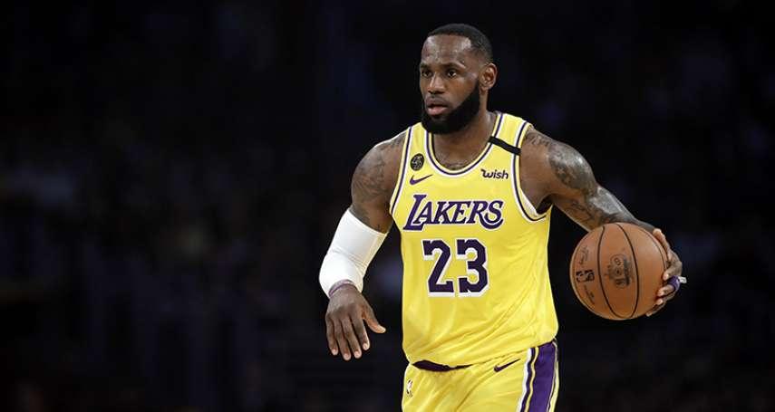 NBA》停賽期與粉絲直播互動 湖人球星詹姆斯透露未來規劃
