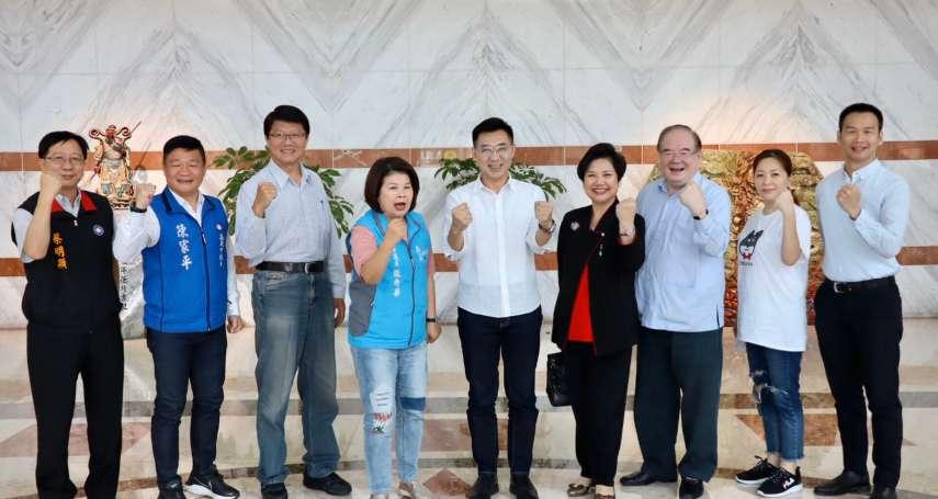 「國民黨要接地氣!」江啟臣會黃敏惠、張麗善:要逆轉輕地方重中央傳統