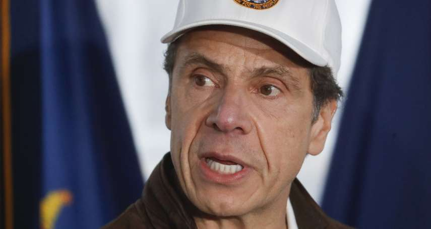 新冠肺炎》所有人都在收看他的記者會!紐約州淪疫情重災區 州長郭謨人氣卻強壓川普
