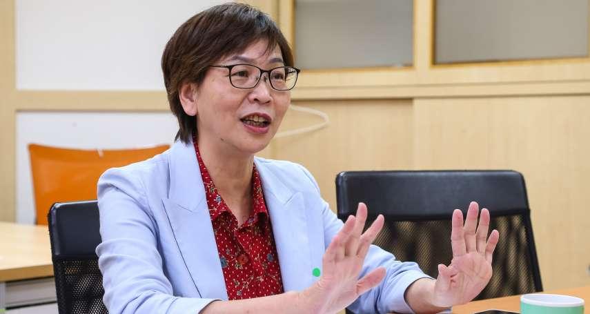 專訪》罷韓若過關,民眾黨是否參與補選?蔡壁如:新興政黨不應該缺席