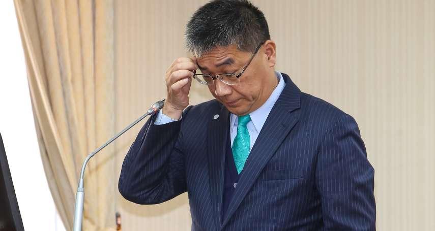 函送警政署長引爆閣揆怒火 藍綠立委挺徐國勇、他批蘇貞昌「兩套標準」