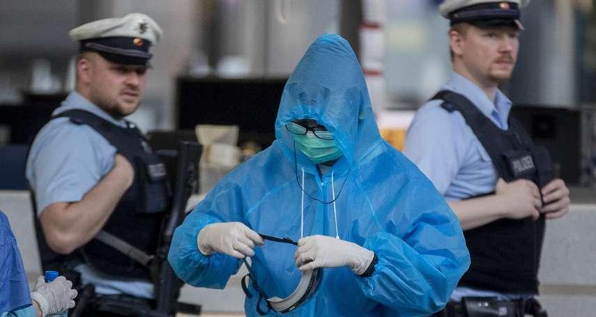 「旅德學生迫切需要協助!」德國僑民提醒:中國僑領極可能發防疫物資給台胞