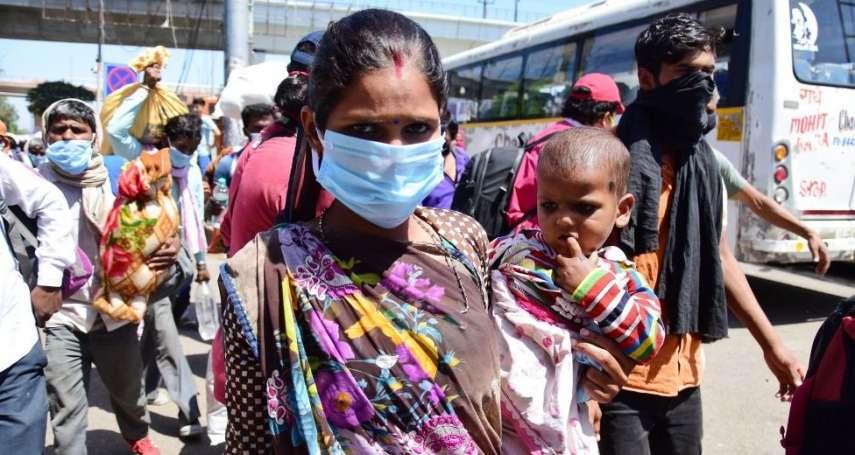 「世界第二人口大國」的防疫難題:印度對抗新冠病毒面臨三大挑戰