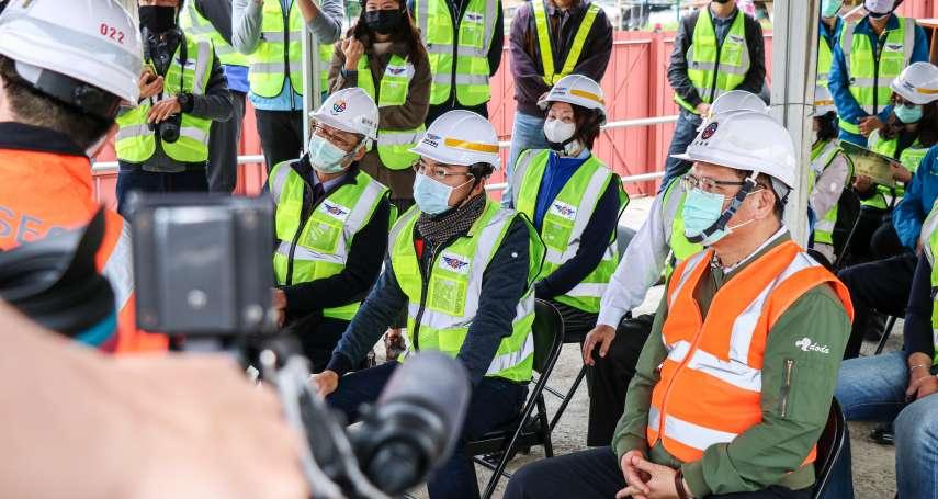 林佳龍視察淡水塞車遲到15分鐘 洪孟楷:部長可體會當地塞車之苦