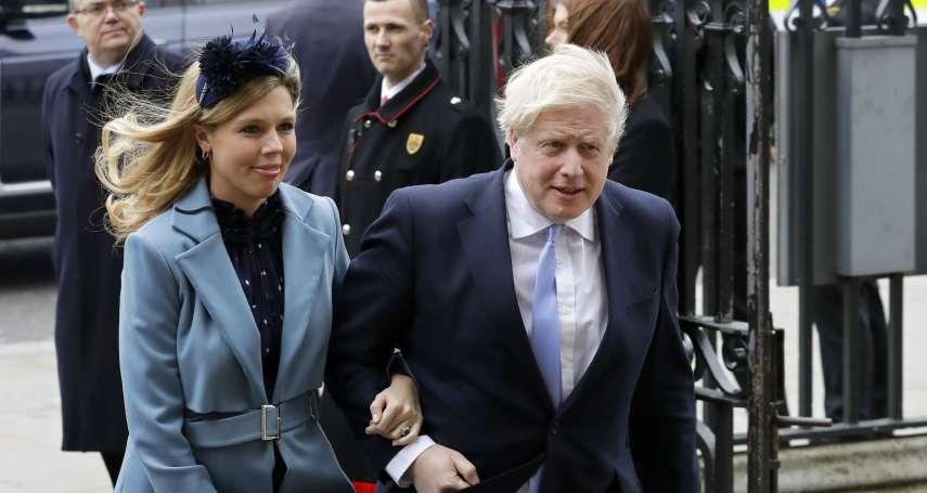 雙喜臨門!英國首相未婚妻誕下男嬰 強森病癒復工3天、喜獲麟兒