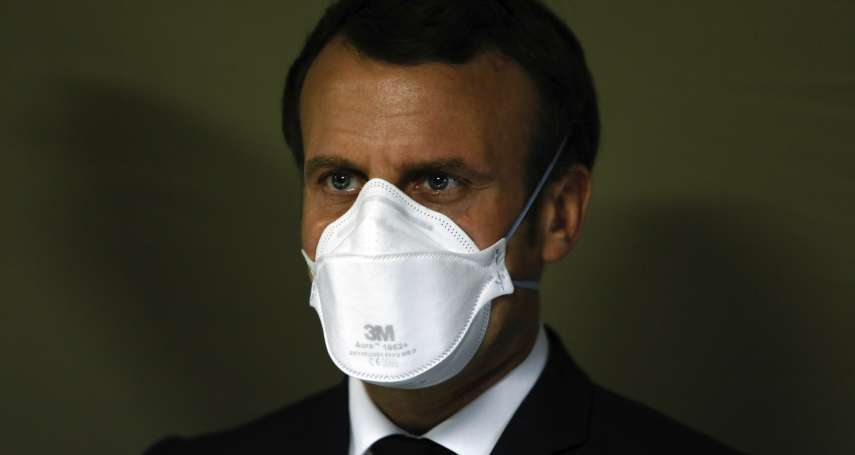法國總統馬克宏確診新冠肺炎!即刻自我隔離7天