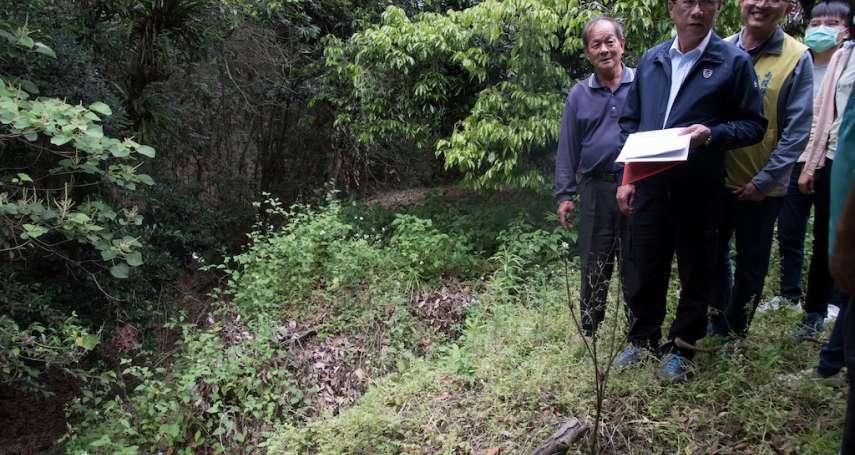集集野溪排水工程 雨季前施工改善豪雨水淹