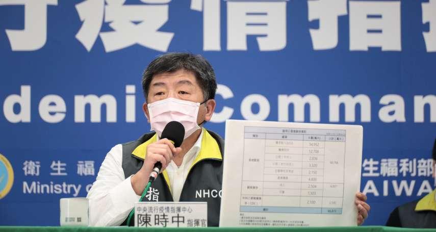 瑞士每百萬人確診數是台灣184倍 陳時中:今年WHA不排除會取消