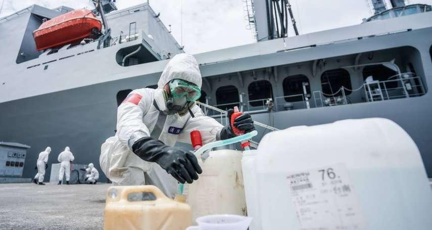 磐石艦8官兵列「極可能病例」 台大醫:一定還有漏網之魚