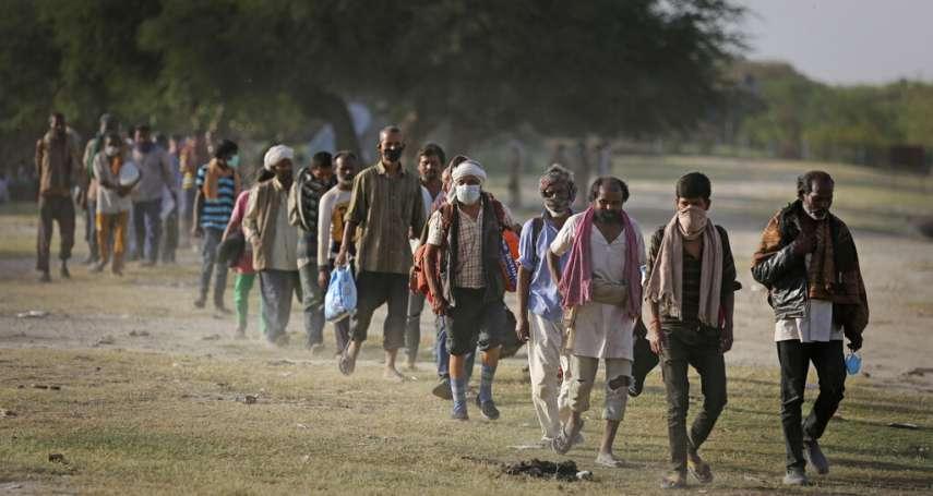 「當個移工成為詛咒!」離鄉背井求餬口卻不受保障 底層勞工拒絕復工、印度經濟恐受衝擊