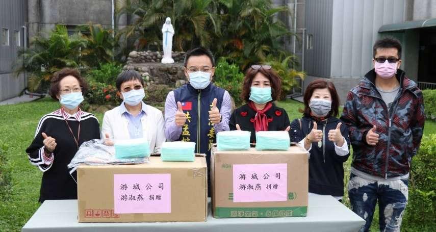回饋鄉里 台商捐千片口罩給新北泰山奇蹟之家