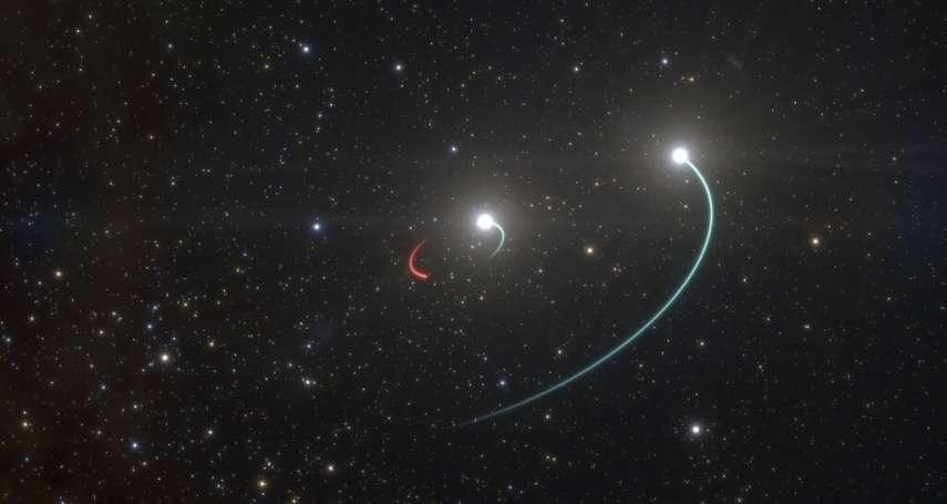 銀河系新鄰居!「離地球最近黑洞」就在1000光年外 肉眼即可見伴星