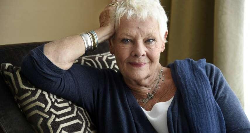 奧斯卡影后茱蒂丹契寶刀未老 85歲成Vogue雜誌最老封面女郎
