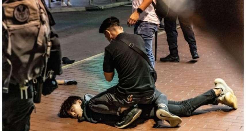 肺炎疫情下香港又爆警民衝突,工會稱記者遭警方「侮辱式對待」