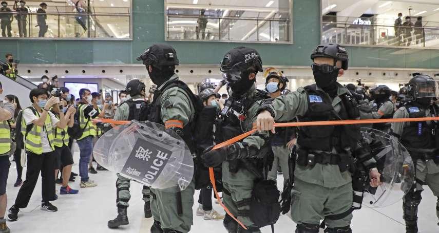 母親節不平靜》13歲學生記者被捕、議員遭壓制在地 香港反送中週年前夕再爆警民衝突
