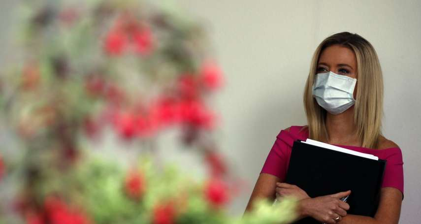 MIT字樣成亮點》白宮發言人、川普女婿都戴台灣捐贈口罩!