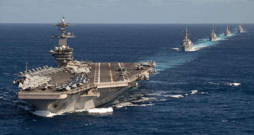 誇稱「6艘航母同時出海」,美軍海上戰力已恢復?《紐時》踢爆海軍作戰部長「膨風」:羅斯福號仍困在關島