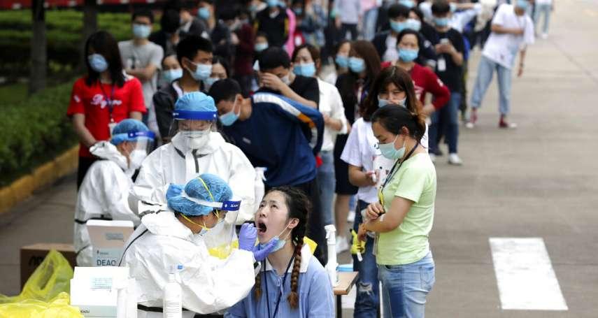 「十天大會戰」只是作作樣子?武漢民眾抱怨:檢測亂、易感染,檢測樣本根本沒有標示
