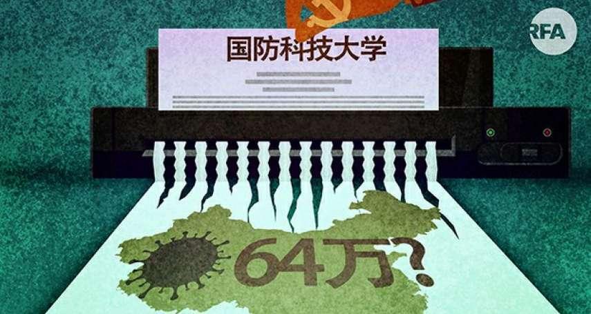 掩蓋疫情不遺餘力!中共黨刊引西方研究稱「病毒不是來自武漢」 遭批斷章取義
