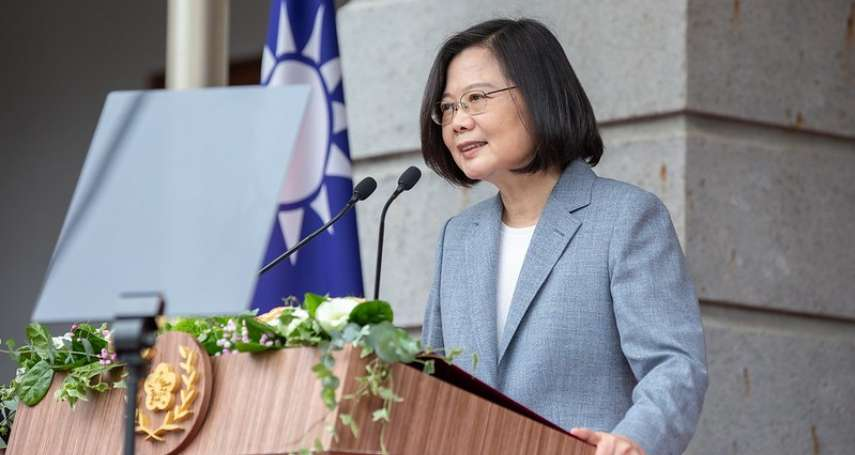 就職演說》台灣援助世界受高度肯定 蔡英文:未來4年積極參與國際組織