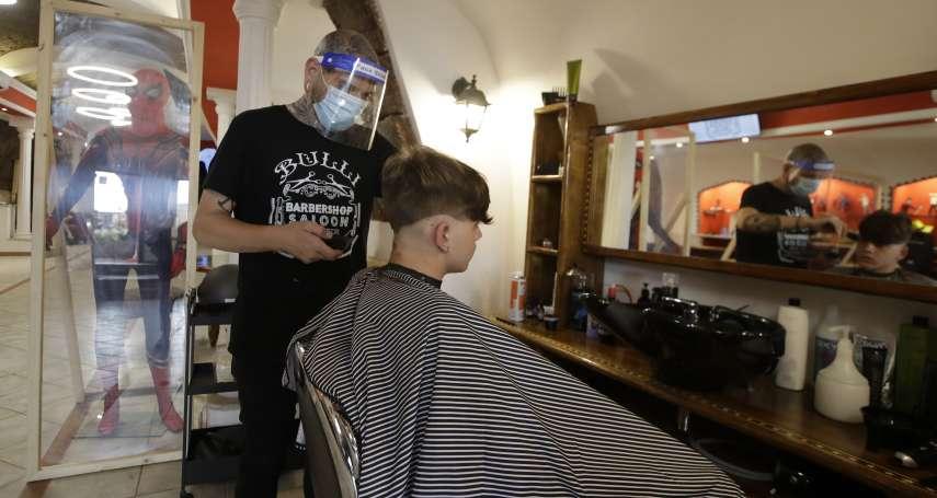 當歐洲重災區開始解封,選擇「欣然開業」與「繼續歇業」的兩間義大利髮廊
