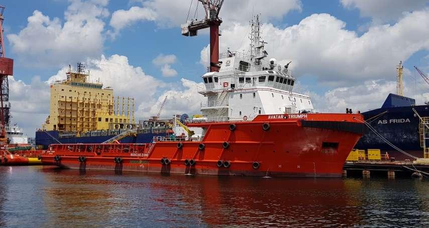 力退強敵   國際海洋搶下海龍風電地質鑽探合約