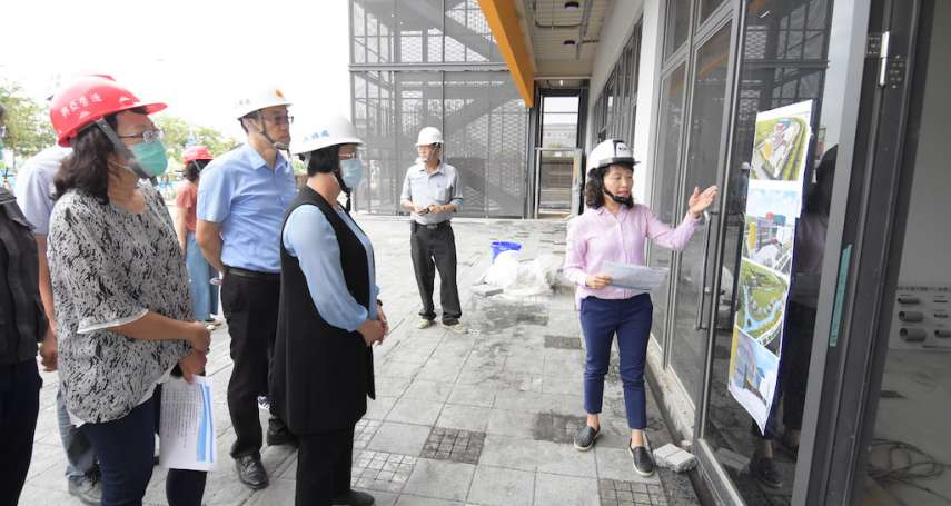 彰南國民運動中心新建工程利月底完工 未來提供優質運動場館
