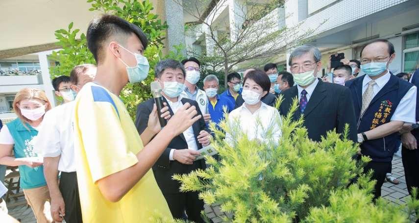 私中捐義賣所得助防疫 陳時中、盧秀燕回贈致敬