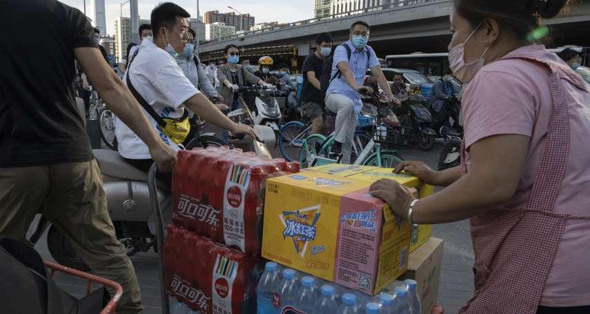疫情重創中國經濟》李克強力推「地攤經濟」救失業 中國媒體跟進宣傳:擺地攤,開賓士!