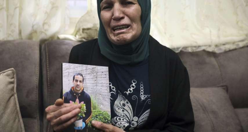 走路去學校竟遭以色列警察擊斃!巴勒斯坦自閉症男子身中7槍 老母親心碎哭泣:我失去了天使