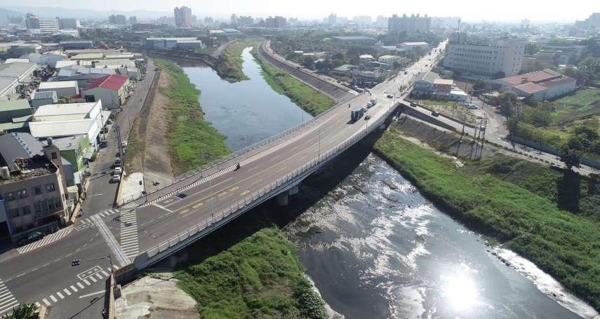 重視行車安全  高市府建設橋梁不遺餘力