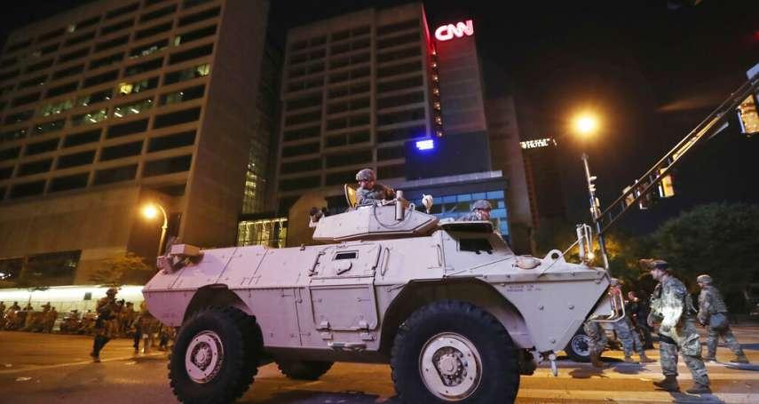 美國將出動軍隊平暴?這位國民兵指揮官不同意:美國公民不該無止盡地接受由軍隊維安