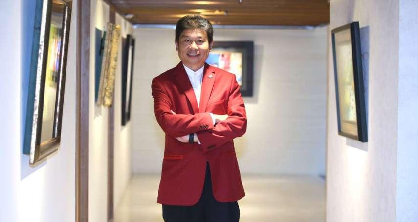 新新聞》創意家副董朱良能,退役上尉變身房地產代銷達人