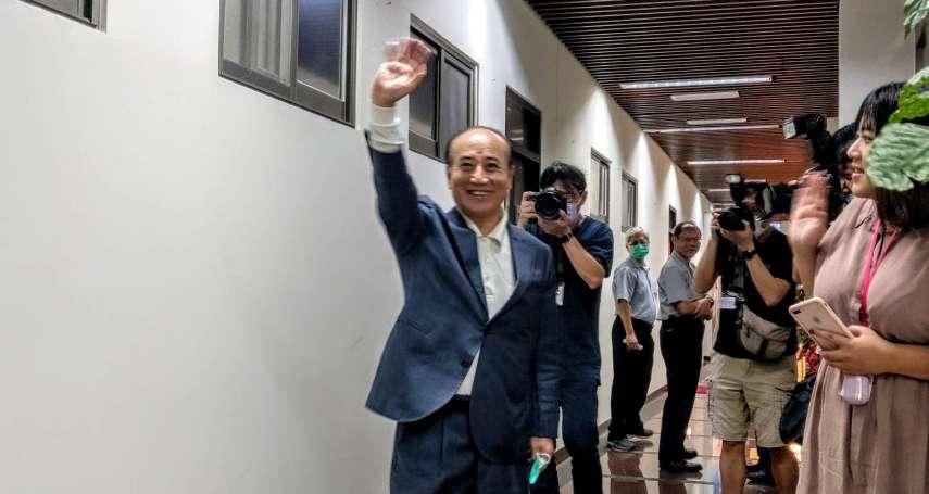 「他認為國民黨再起的機會不大!」王金平爆辜寬敏建議他另組新政黨