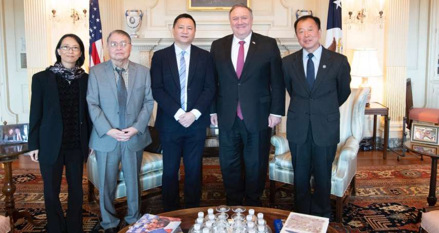 六四31周年》美國國務卿龐畢歐會見王丹,認真請益:如何才能幫助中國民主化?