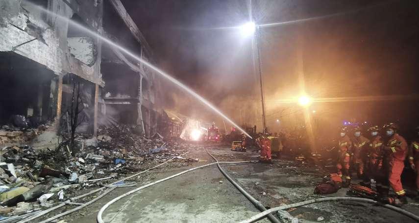 槽罐車在高速公路上爆炸!炸毀工廠、民宅,至少19人遇難、172人輕重傷