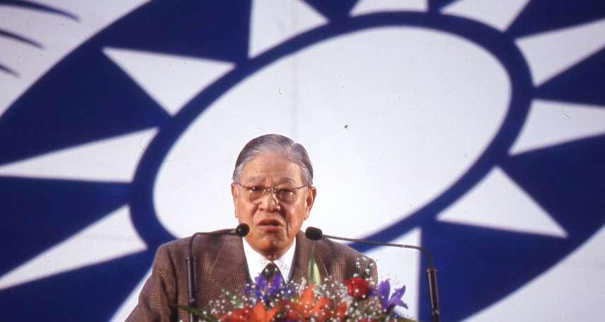 「李登輝前期外交政策沒人比他好!」蘇起:1996後變調,成「民主獨裁者」