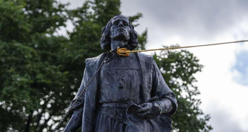 全球都在拆銅像》從美國到紐西蘭,從哥倫布到邱吉爾 盤點那些被推倒的種族主義分子