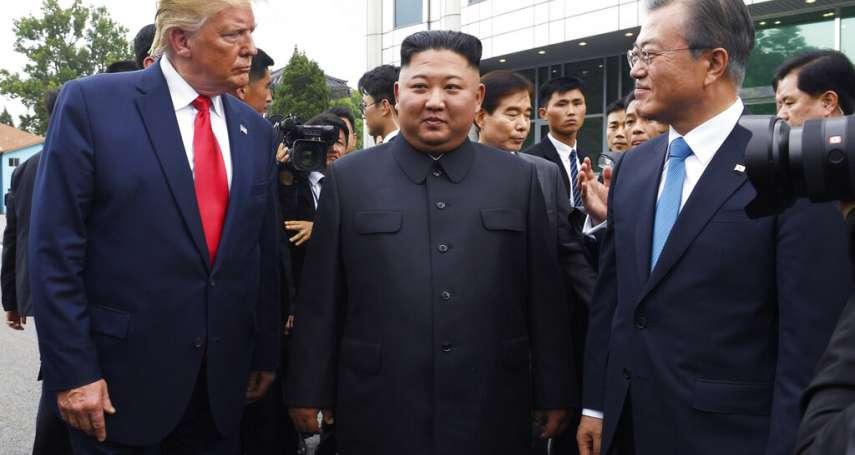 文在寅又想拉攏「川金會」!南韓總統試風向:川普與金正恩在美國大選前應該見一面