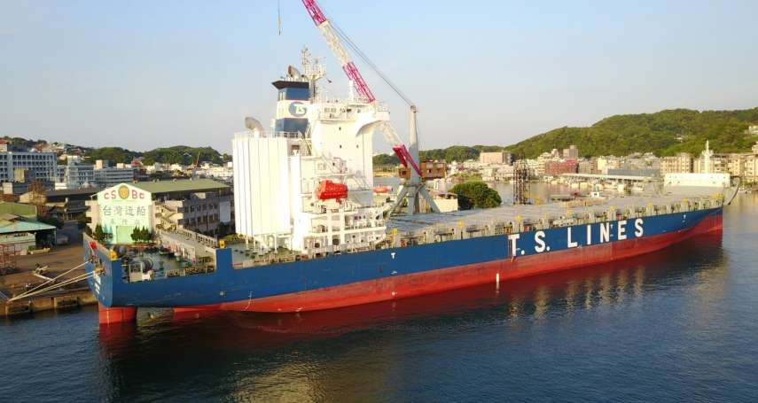 台船基隆廠船工場順利完成德翔海運委託首次脫硫器加裝任務