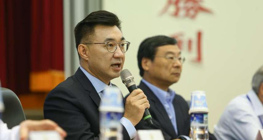 江啟臣同框黃之鋒稱「確認非港獨」 他痛批:定義權在北京手上