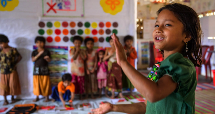 世界難民日》她的名字意為「美好天堂」,但她的生活卻絕對不是天堂