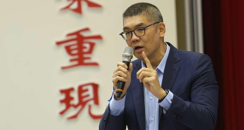 批民進黨「帝制威權」 連勝文:網管法只管批評政府的人