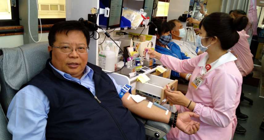 疫情趨援 中油熱烈捐血解決血荒