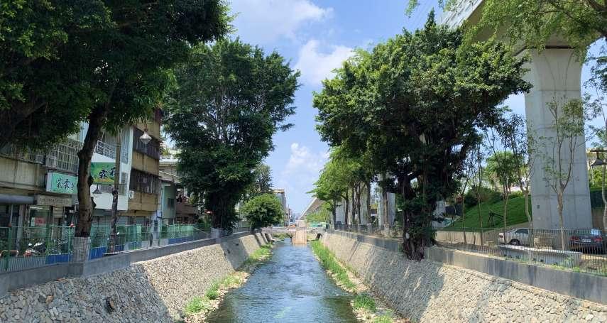 為舊城區注入新活力 綠川串連水岸、鐵道環境