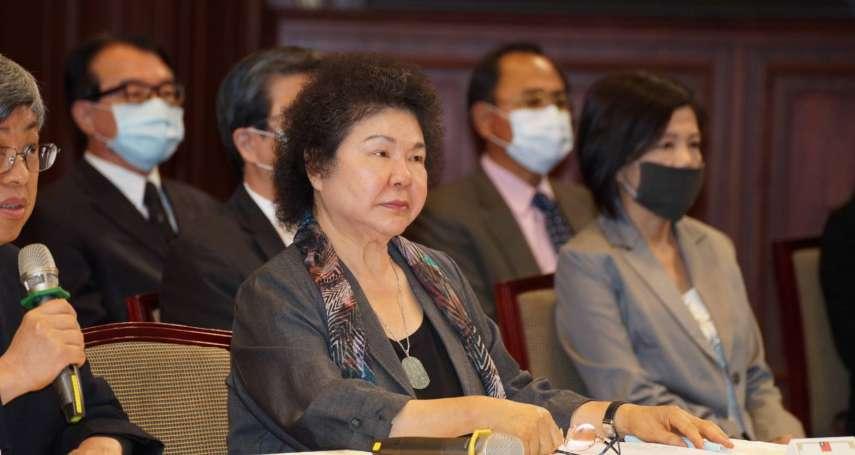 觀點投書:台灣人權只能指望一個監察院長陳菊嗎?