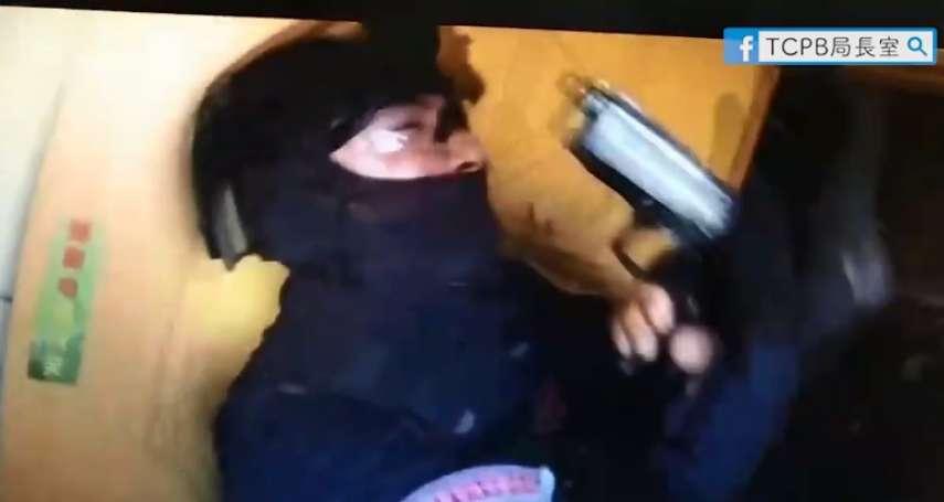 台中警跨區辦案遭槍擊 特警丟震撼彈強力攻堅 驚險奪槍逮人