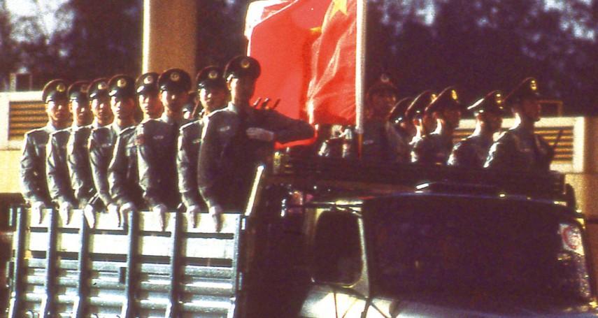 陳東豪專欄:24年前我與白狼一起見證香港回歸