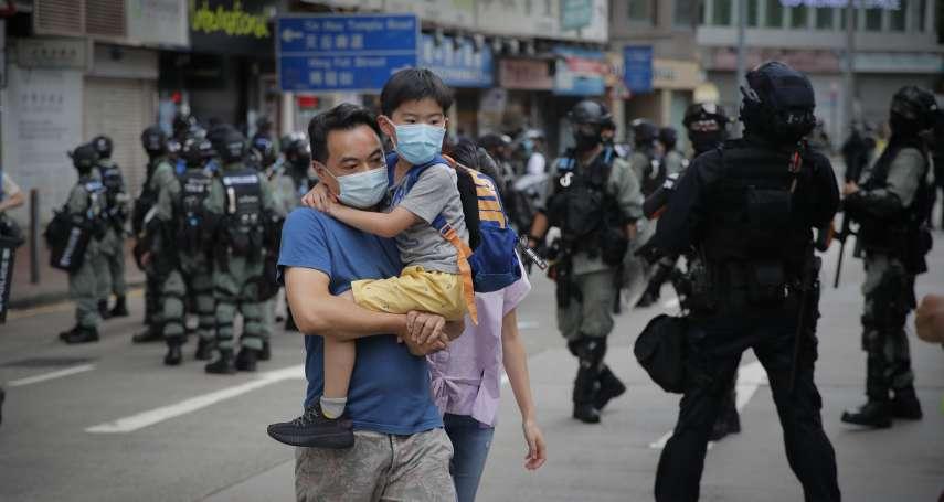 港版國安法》人大香港代表譚耀宗:立法之後有人要以身試法,那只能繩之於法